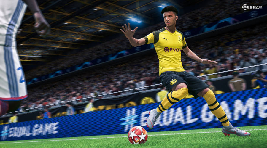 FIFA 20 Test Sancho