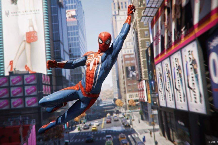 Spider-Man Gameplay Wie Tarzan durch die Luft