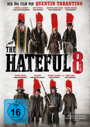 Filmplakat The Hateful 8