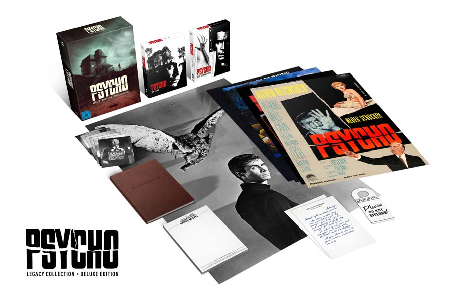 Gewinn: Psycho Legacy Collection - Deluxe Edition