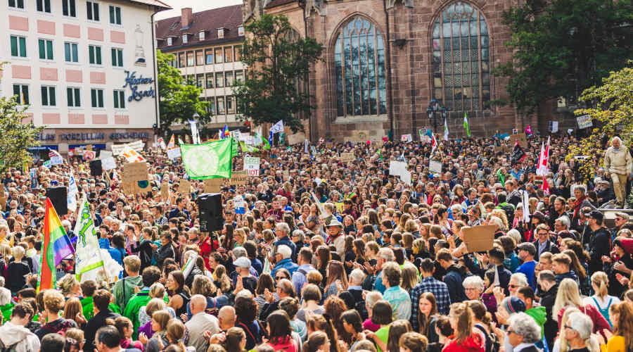 Fridays for Future Ziele Demonstration