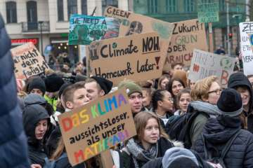 Klimastreik Fridays for Future