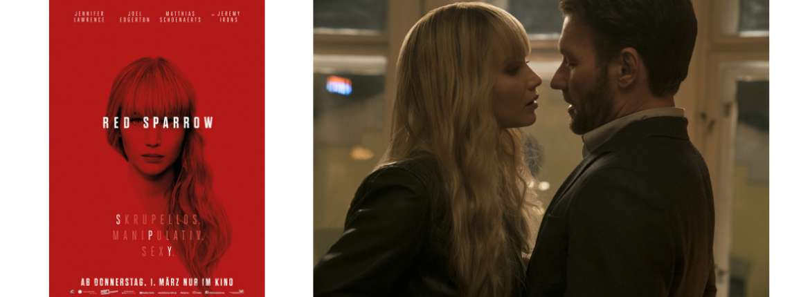 """""""Red Sparrow"""" Filmkritik Review"""