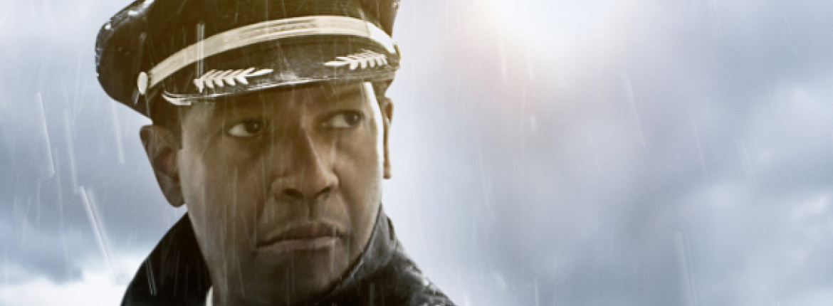 "Denzel Washington in ""Flight"" 
