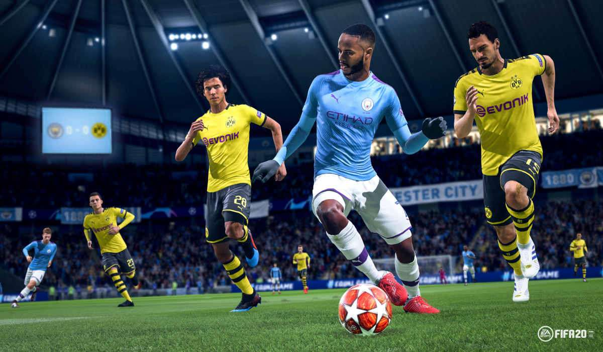 FIFA 20 Test Sterling Dribbling