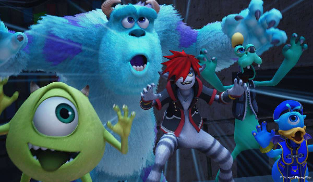 Kingdom Hearts III Monster AG und Donald