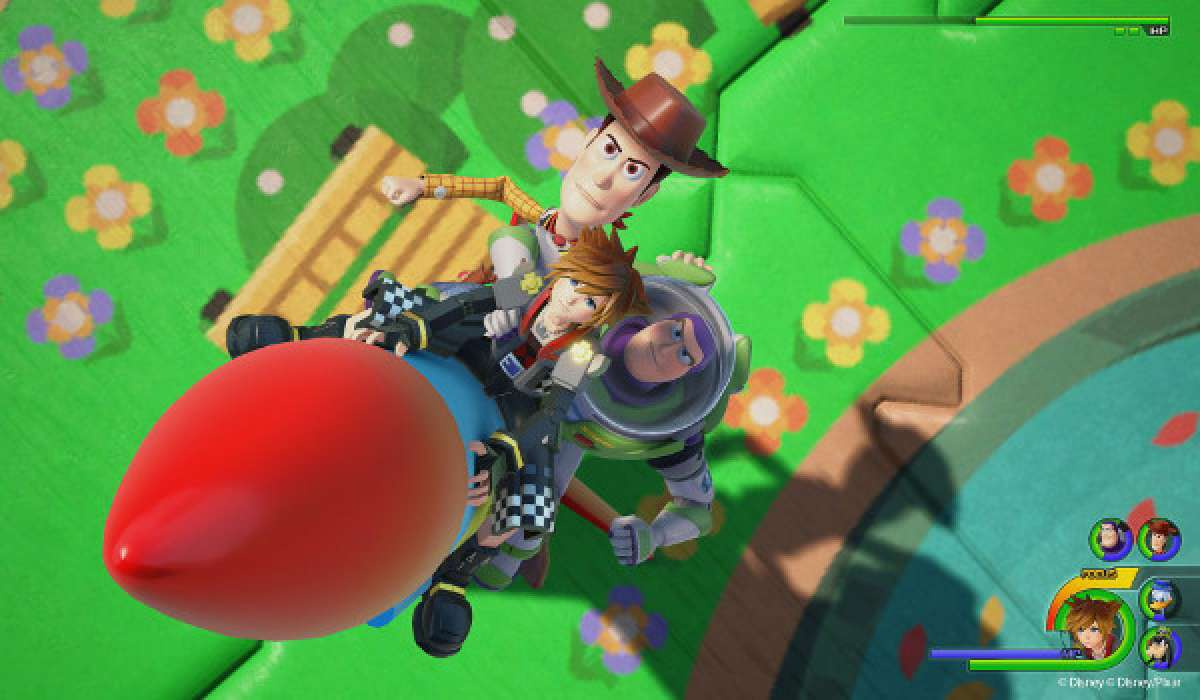 Kingdom Hearts III Woody Toy Story