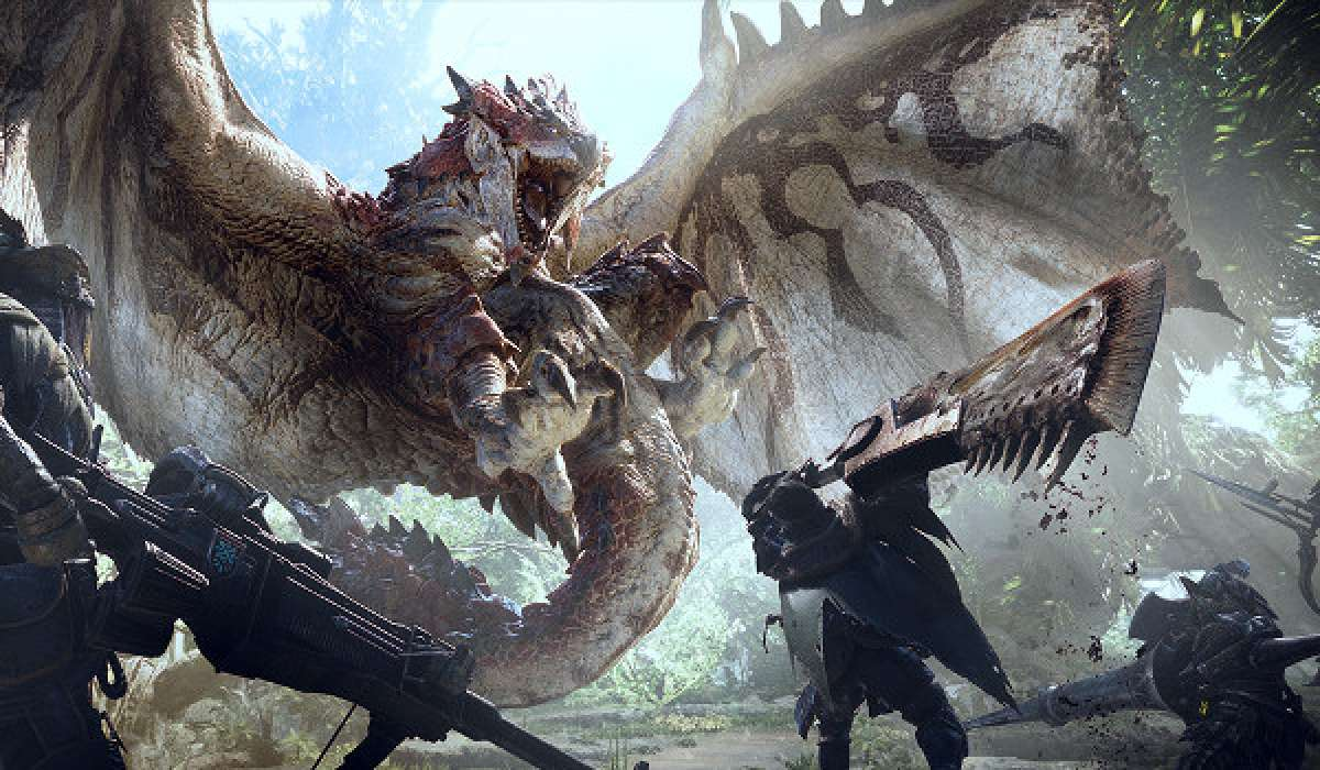 Monster Hunter World Kampf