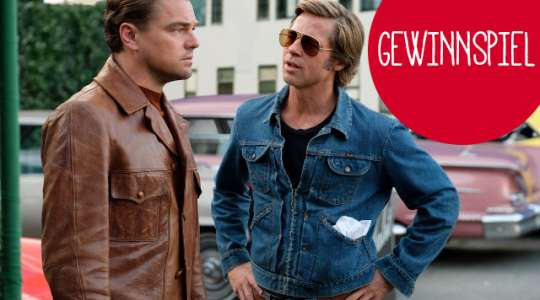 "Verlosung: Fanpakete von ""ONCE UPON A TIME... IN HOLLYWOOD"""