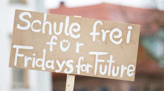 Fridays for Future Ziele Protest