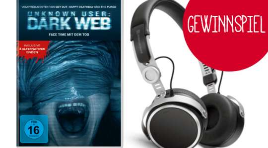 Gewinnspiel Unknown User: Dark Web