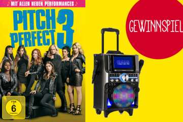 Pitch Perfect 3 Verlosung Karaoke