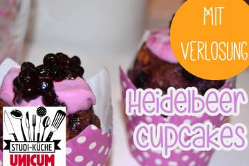 Heidelbeer-Cupcakes backen